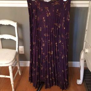 Vintage Sag Harbor  pleated skirt